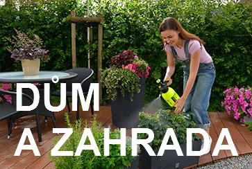 d�m a zahrada