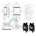 Blanka BS 8 kW PRAVÁ + Doprava zdarma