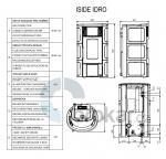 ISIDE IDRO 2,0 bordó/bílá/pergamena/ vogue ametyst/keramika