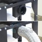 Regulační set pro přívod externího vzduchu - kruhový pr. 100 mm