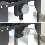 Regulační set pro přívod externího vzduchu - kanál 5x15 cm