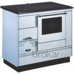 Sporák VSP 9100 s troubou, L/P, bílý, plast.doplňky, ocel. stříkaná plotna