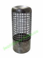 Sací koš nerezový střední, připojení 110 mm