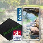 Fatra Jezírková folie Aquaplast 805V 1,5 mm PVC černá 14x11m