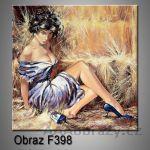 Moderní obraz do bytu 1D 25x25cm F-398