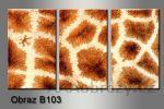 Obraz na plátně 3D 75x35cm B-103