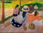 Reprodukce obrazu Paul Gauguin - Siesta - 120x80cm