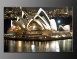 LED obraz 120x80cm vzor 11 - Sydney noční město - akce