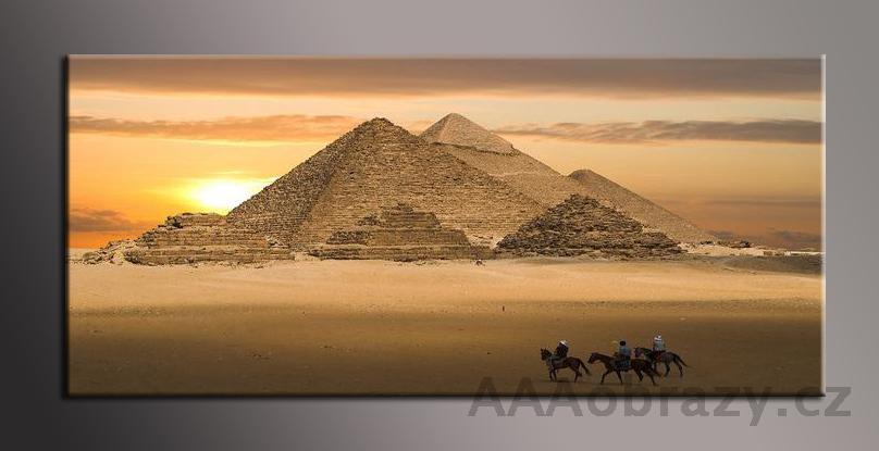 Obraz panorama 150x70cm město vzor1336