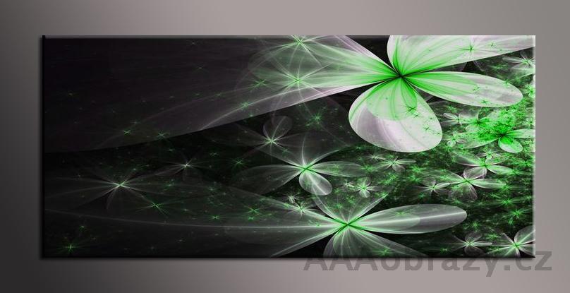 Obraz na plátně 150x70cm panorama abstrakce 1121