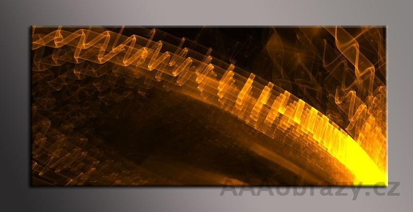 Obraz na plátně 150x70cm panorama abstrakce 122