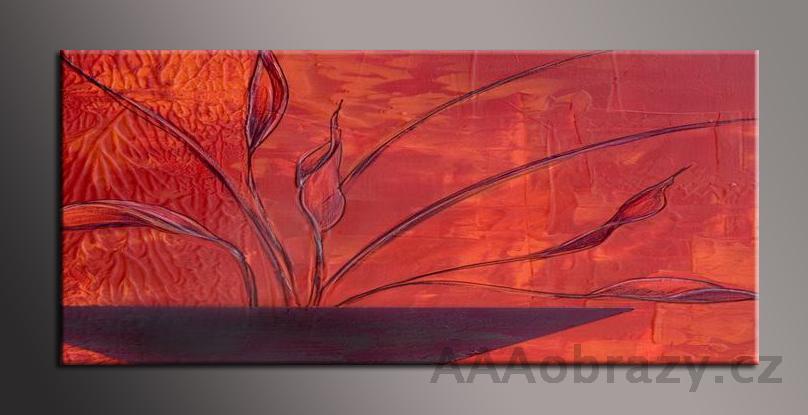Obraz na plátně 150x70cm panorama abstrakce 144