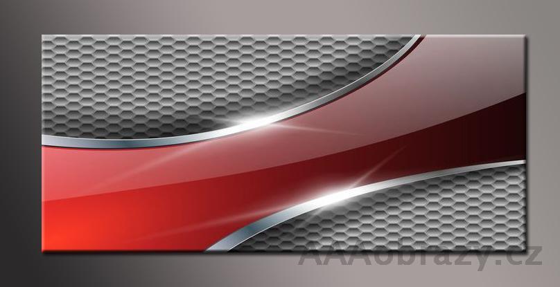 Obraz na plátně 150x70cm panorama abstrakce 162