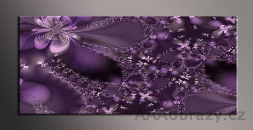 Obraz na plátně 150x70cm panorama abstrakce 181