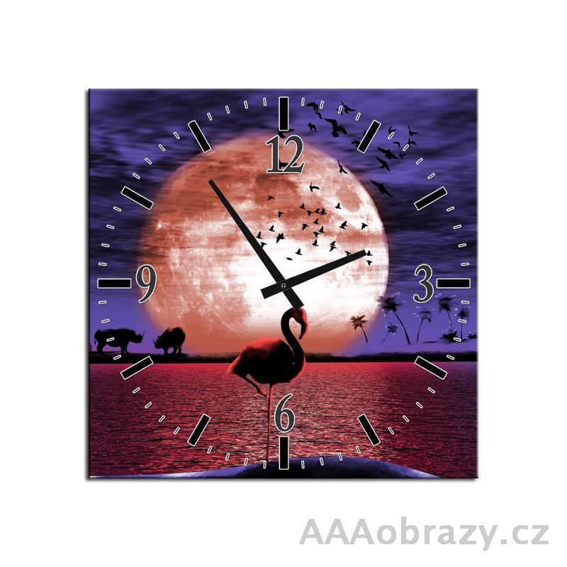Obraz s hodinami 30x30cm vzor f003179f3030c