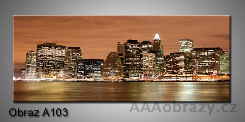 Moderní obraz 1D na plátně 150x70cm Panorama A103