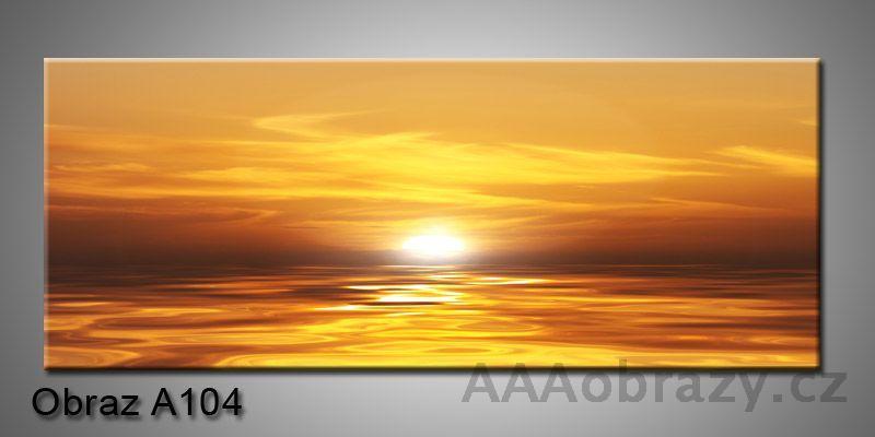 Moderní obraz 1D na plátně 150x70cm Panorama A104