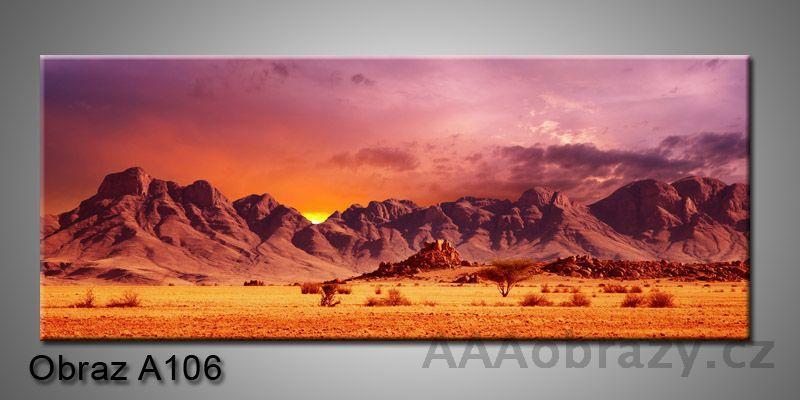 Moderní obraz 1D na plátně 150x70cm Panorama A106