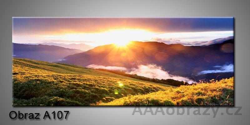 Moderní obraz 1D na plátně 150x70cm Panorama A107