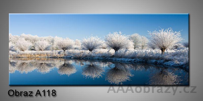 Moderní obraz 1D na plátně 150x70cm Panorama A118