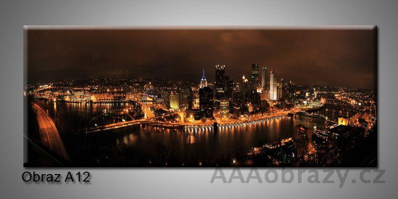 Moderní obraz 1D na plátně 150x70cm Panorama A12