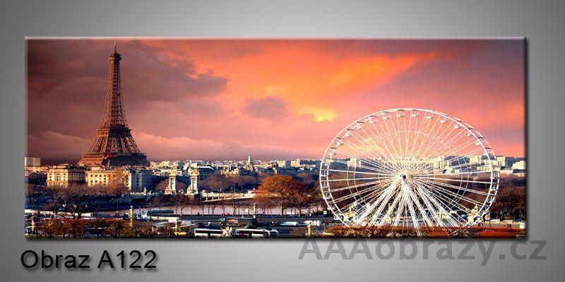 Moderní obraz 1D na plátně 150x70cm Panorama A122