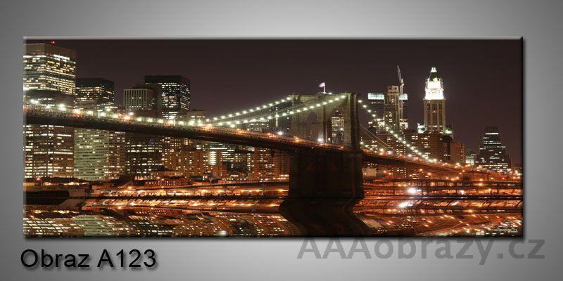 Moderní obraz 1D na plátně 150x70cm Panorama A123