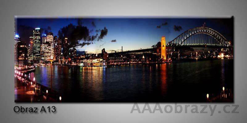 Moderní obraz 1D na plátně 150x70cm Panorama A13