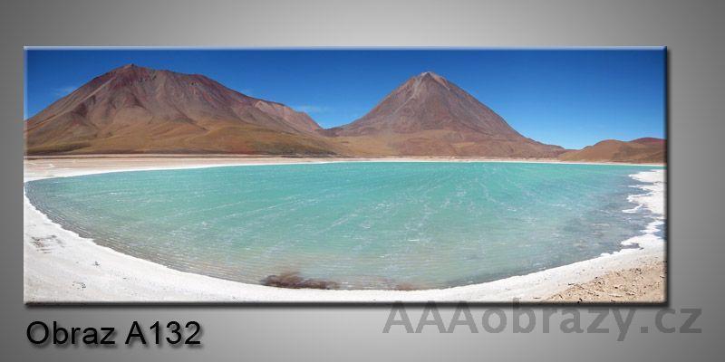 Moderní obraz 1D na plátně 150x70cm Panorama A132