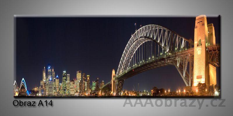 Moderní obraz 1D na plátně 150x70cm Panorama A14
