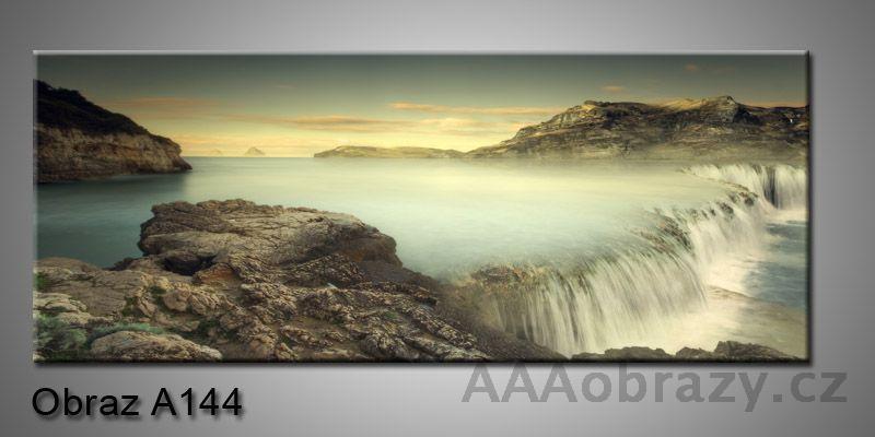 Moderní obraz 1D na plátně 150x70cm Panorama A144
