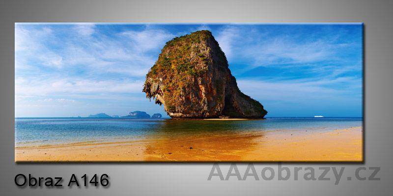 Moderní obraz 1D na plátně 150x70cm Panorama A146