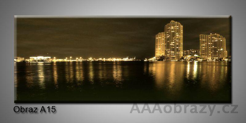 Moderní obraz 1D na plátně 150x70cm Panorama A15
