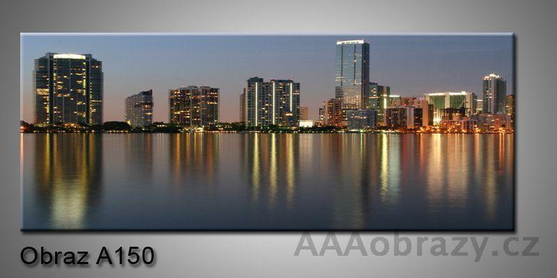 Moderní obraz 1D na plátně 150x70cm Panorama A150