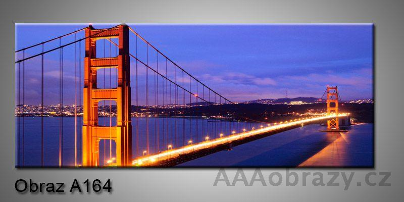 Moderní obraz 1D na plátně 150x70cm Panorama A164