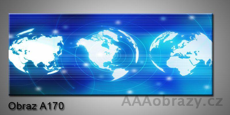 Moderní obraz 1D na plátně 150x70cm Panorama A170