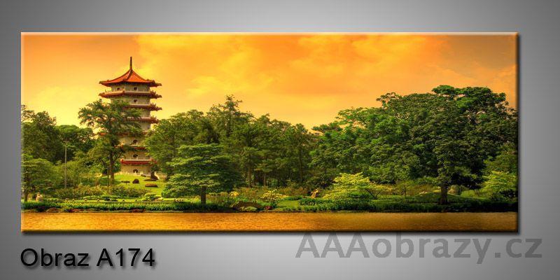 Moderní obraz 1D na plátně 150x70cm Panorama A174