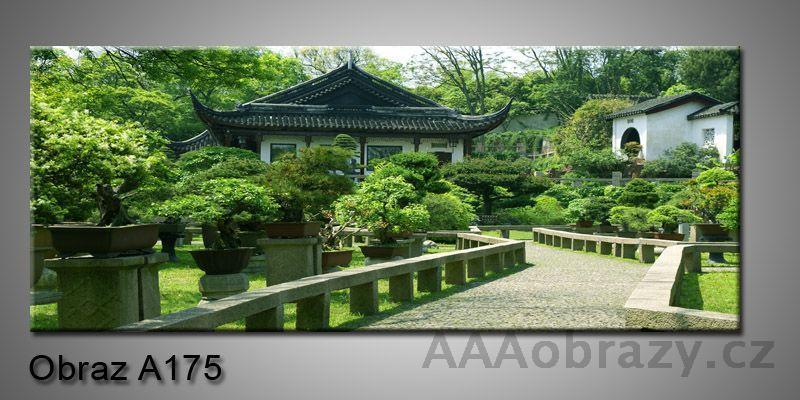 Moderní obraz 1D na plátně 150x70cm Panorama A175