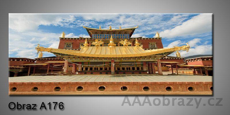 Moderní obraz 1D na plátně 150x70cm Panorama A176