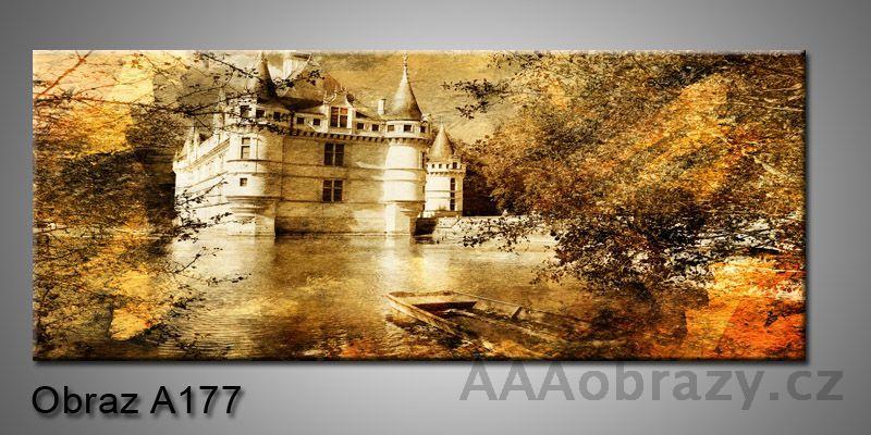 Moderní obraz 1D na plátně 150x70cm Panorama A177