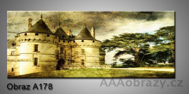 Moderní obraz 1D na plátně 150x70cm Panorama A178