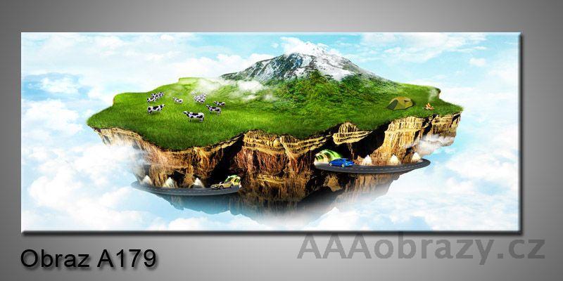 Moderní obraz 1D na plátně 150x70cm Panorama A179