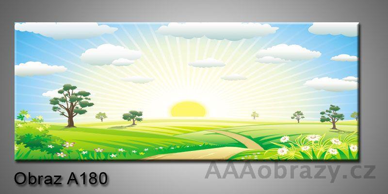 Moderní obraz 1D na plátně 150x70cm Panorama A180