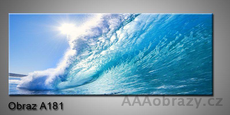 Moderní obraz 1D na plátně 150x70cm Panorama A181