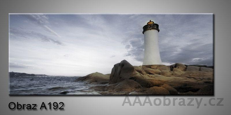 Moderní obraz 1D na plátně 150x70cm Panorama A192
