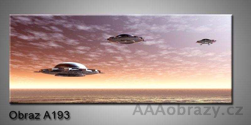 Moderní obraz 1D na plátně 150x70cm Panorama A193