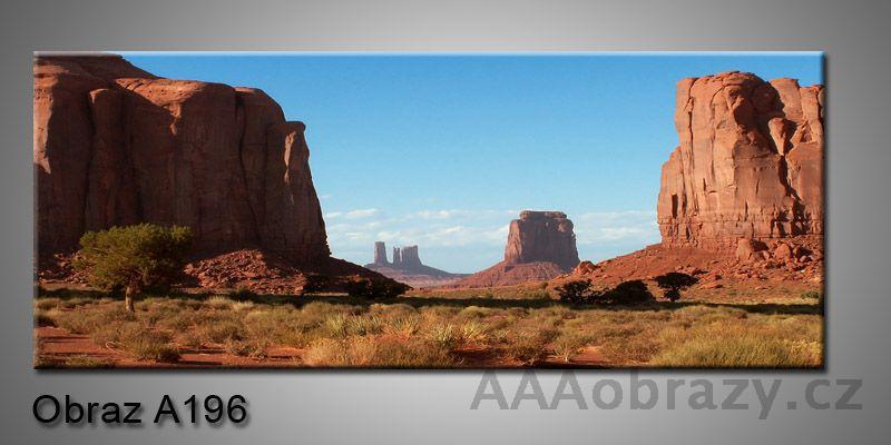 Moderní obraz 1D na plátně 150x70cm Panorama A196
