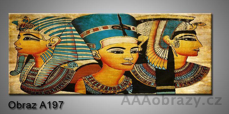 Moderní obraz 1D na plátně 150x70cm Panorama A197