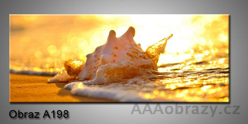 Moderní obraz 1D na plátně 150x70cm Panorama A198