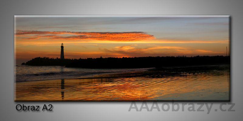 Moderní obraz 1D na plátně 150x70cm Panorama A2